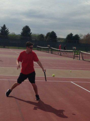 Tennis team rejuvenated by captain Murphy