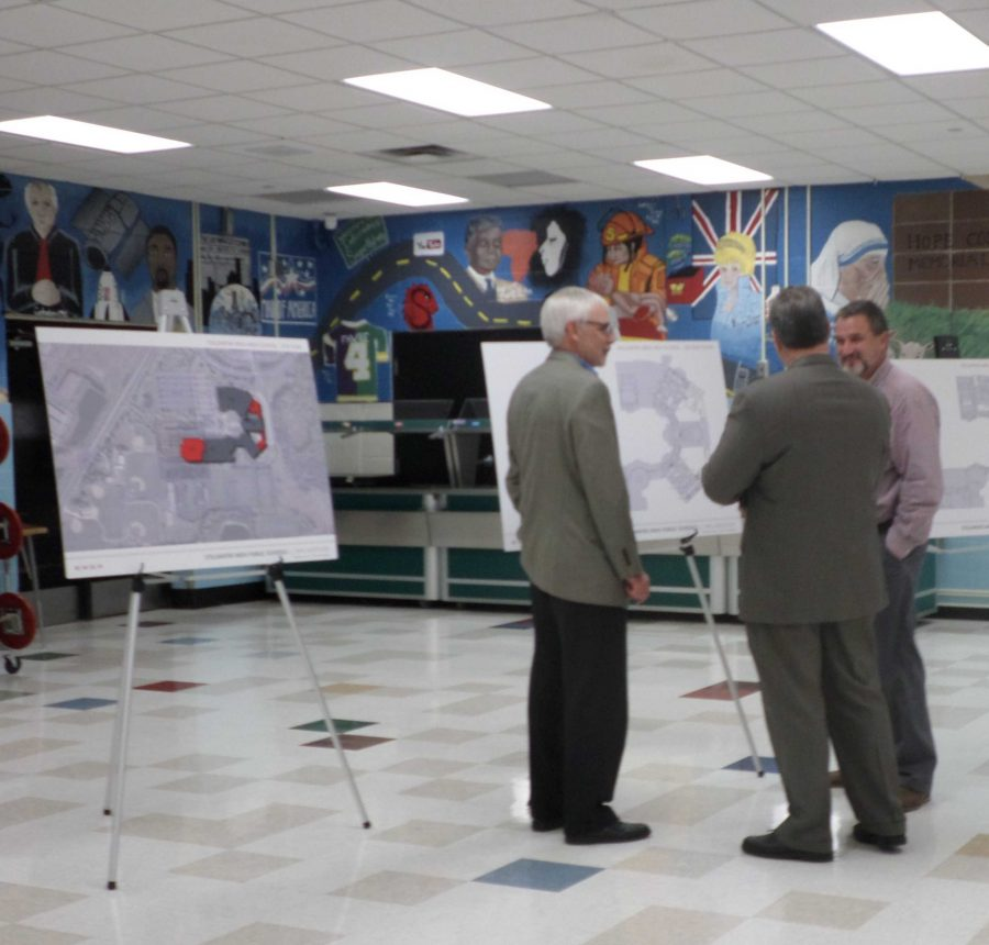 Assistant Principal Bill Howlett talked to community members about the new changes.