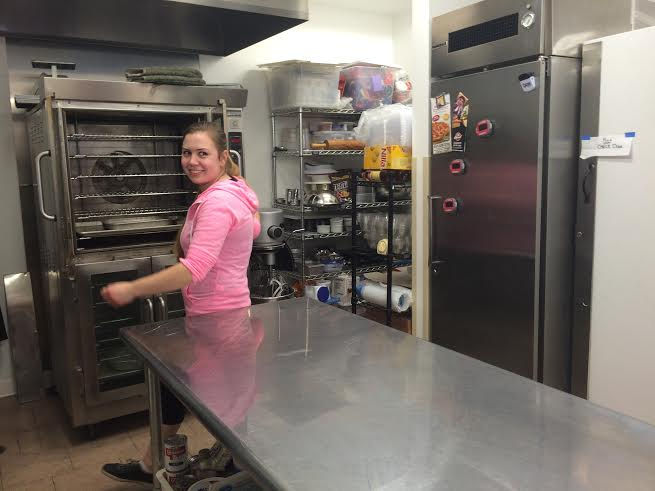 Photo by Katie Hutton Hannah was motivated to buy the bakery at its location in Churchill largely because it came with the equipment she needed.