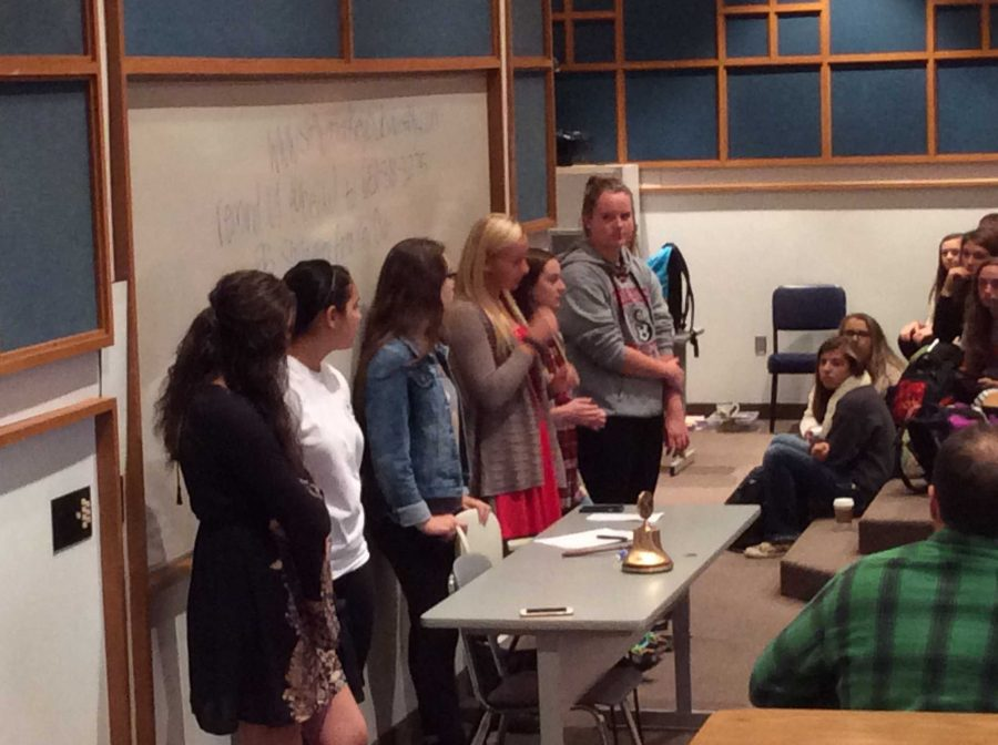 Key club is student led with 7 leaders
