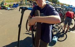 Junior equipment managers join Mountain Biking Team