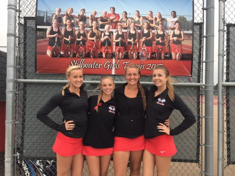 Girls tennis heads into post-season