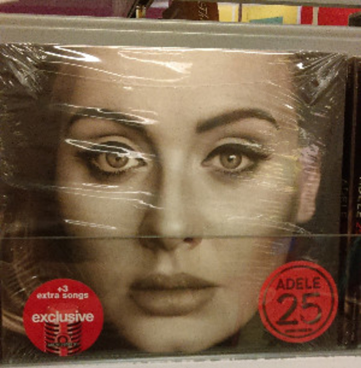 Adele's new album 25, was released November 20, and exclusively at Target three bonus are included in the album.