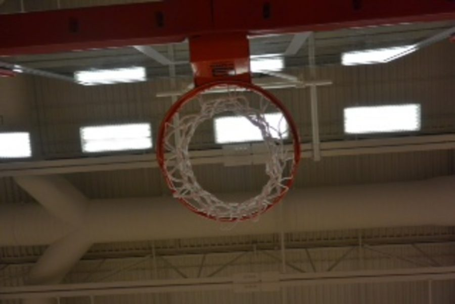 This is the typical view for any basketball player. Whether it be rebounding a shot, shagging for a teammates while they shoot, or even the fun idea to try to jump as high as possible to reach the net. The little things about the sport are what the girls have come to love. Sticking with any sport to play at a competitive high school level is impressive, and is highly regarded by peers. Junior Camryn Davis explained