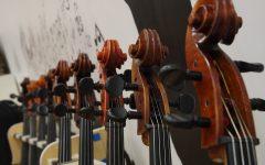 Zach Sawyer conducts first orchestra concert