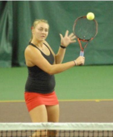 Girls varsity tennis team goes to state