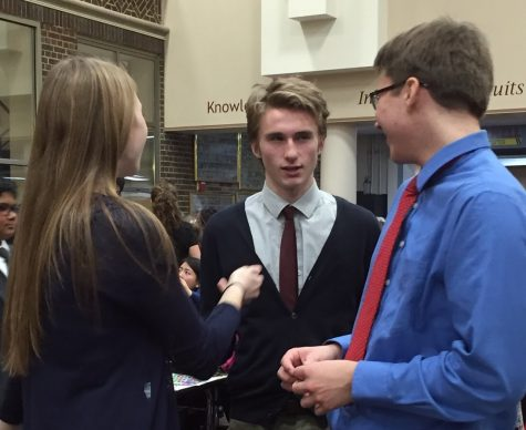 Debate team argues their way to state