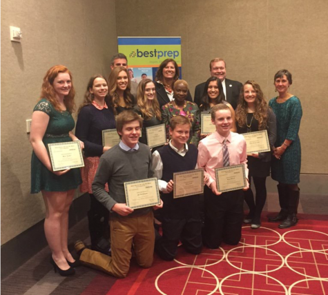 Students place in top 20 at statewide essay competition