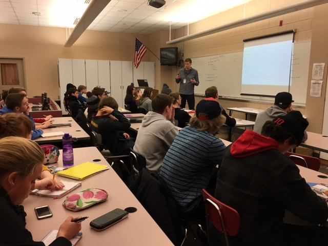 Schut's finance class allows students to prepare for their future before they are thrown into it.