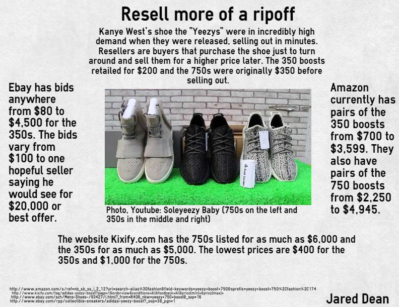 Sneakerheads splurge for Yeezy Boosts