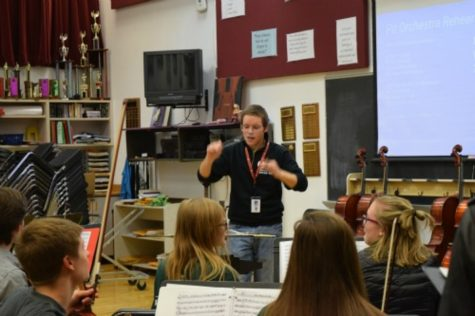 Anything Goes is the first musical in a long time at Stillwater to feature a complete student pit orchestra. The new pit orchestra is hoped to be a new trend as the fine arts department continues to work together to create performances for the community to enjoy, Sawyer says,