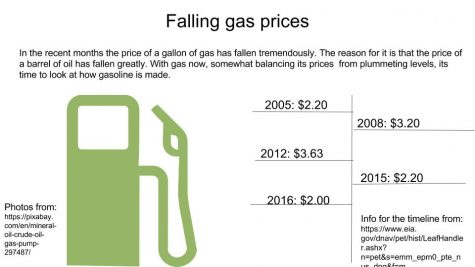 Falling gas prices benefit new drivers