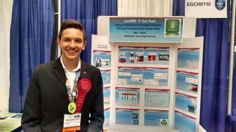 SAHS students top finishers at regional science fair