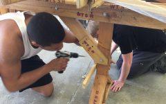 Canoe building teaches ALC students new skills