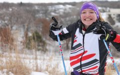 "Peterson's journey for skiing has brought her far and not knowing how to ski at first, shows how much she has improved her skills. Her start for the love of skiing began with ""many of my swim friends decided to start it and encouraged me to,"" Peterson said."