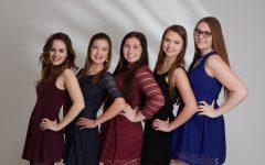 Girl scouts earn gold award