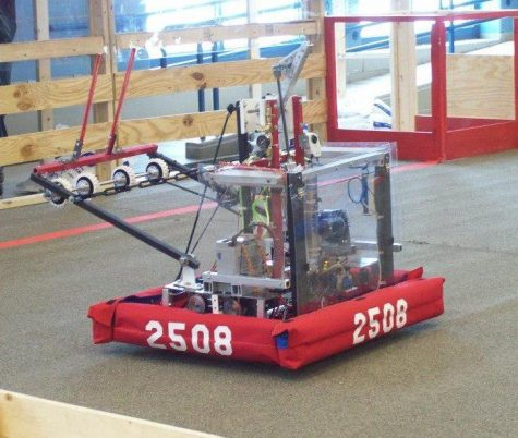 Robotics team battles through season