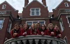 On Friday, the Belle Chanter visited the Glensheen Mansion. Fry said,