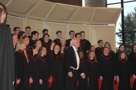 Doc retires from teaching choir after 28 years