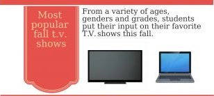 New exciting shows take on fall T.V.