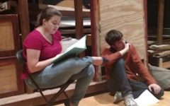 '39 Steps' cast jumps into rehearsal