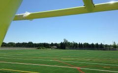 Out with grass, in with turf: fall sports play on new field