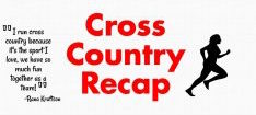 Cross Country finishes season with state meet