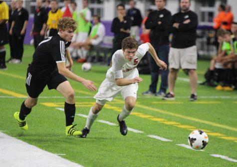 Patrick Allan leads varsity soccer team towards state title