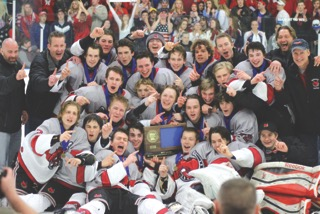 """Photo by Jack Reinseth- The team last year has many players who will return this year are hungry to get back to the tourney and finish even better. Pete Hamilton says, """"I think this team is as strong as last, maybe even better."""""""