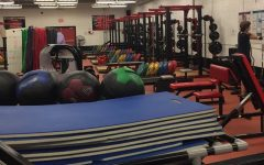 Weight lifting continues grind for athletes
