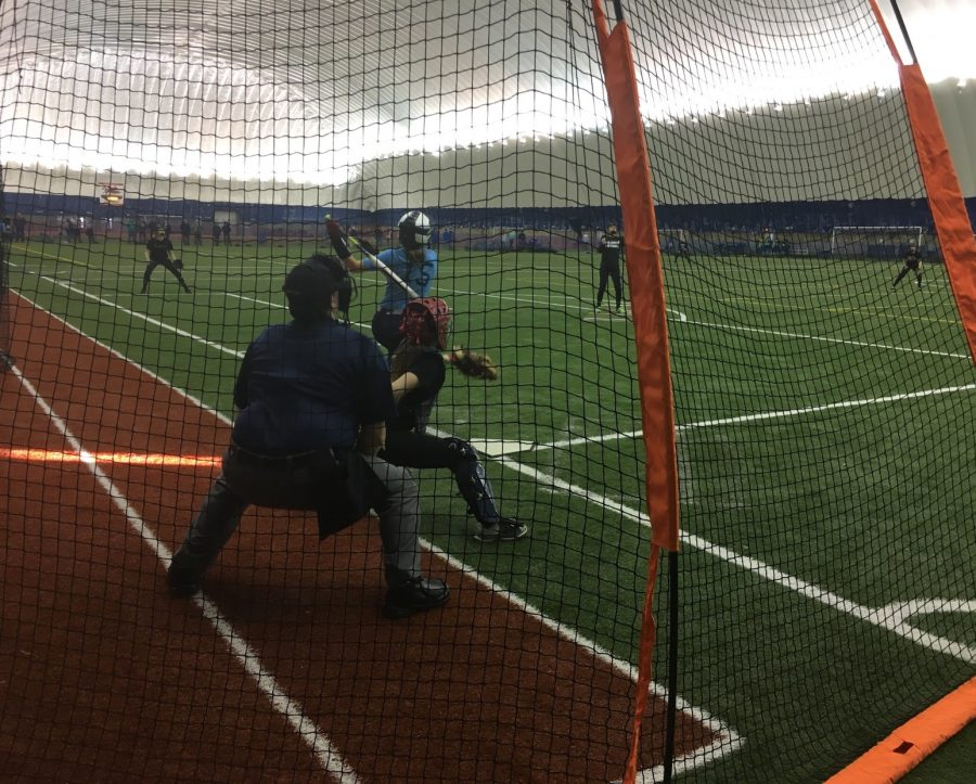 Softball trains hard, prepares for season