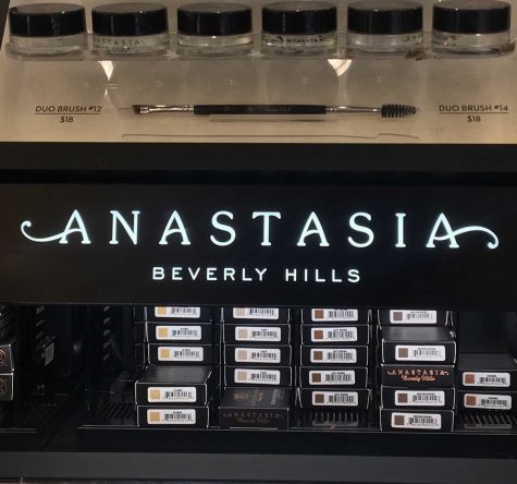 "Anastasia Beverly Hills is known for its eyebrow pencils and pomade. They are a favorite among Youtubers and students. ""I really like the Anastasia pomade because it is more natural than pencils and other brands,"" junior Maggie Raedeke says."