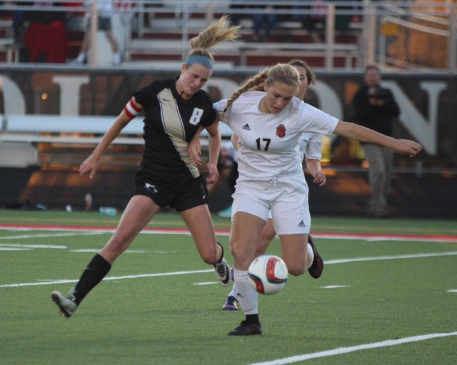 Olivia Knox destroys the ankles of a player on East Ridge.