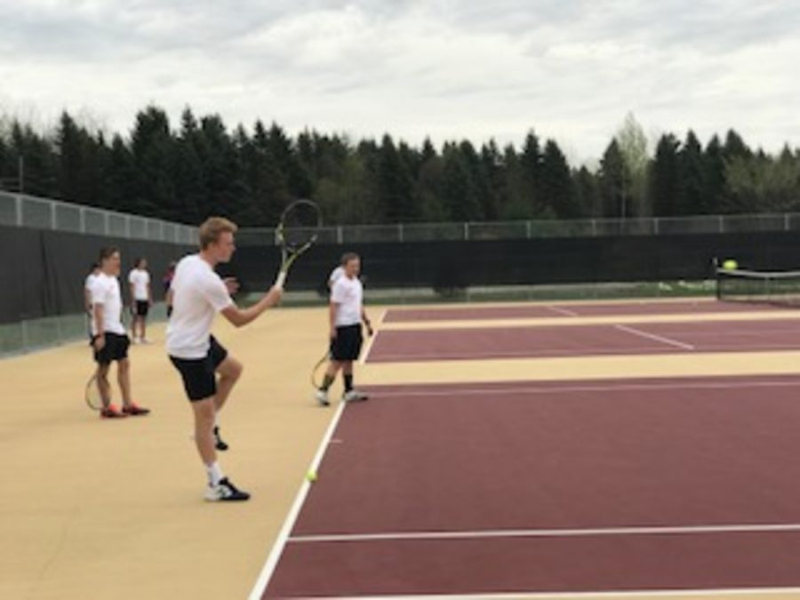 The+team+looks+to+senior+leadership+to+help+direct+the+team+towards+success.+%22We+still+have+our+first+singles%2C+Jack+Leach%2C+and+first+doubles%2C+Parker+and+Cole+Dutko%2C+from+last+year+who+are+now+all+seniors%2C+so+we+have+a+more+experienced+team+than+last+year%2C%22+juinor+Keyan+Shayegan+says.