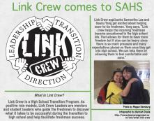 Link Crew helps bridge high school grade gap
