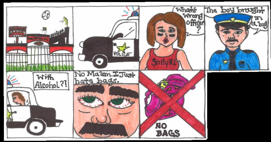 Editorial Cartoon by Madison Weispfenning