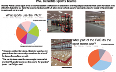 Athletics teams benefit from new PAC
