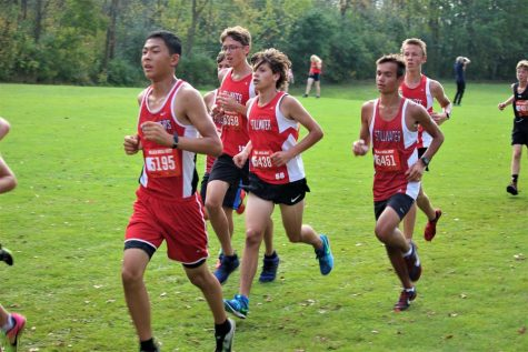 "Coach Scott Christensen supports his team in any way possible. ""I love Scott, ever since day one he's just been a cool, down to earth guy. He makes the Cross Country atmosphere so funny and lighthearted, and he takes the time to get to know you."" Senior Riley Call says."