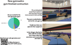 Girls gymnastics to debut new gym