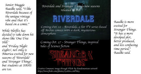 'Riverdale', 'Stranger Things' return to Netflix