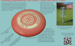 Increased participation for frolf calls for new club