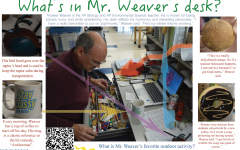 What's in Mr. Weaver's desk?