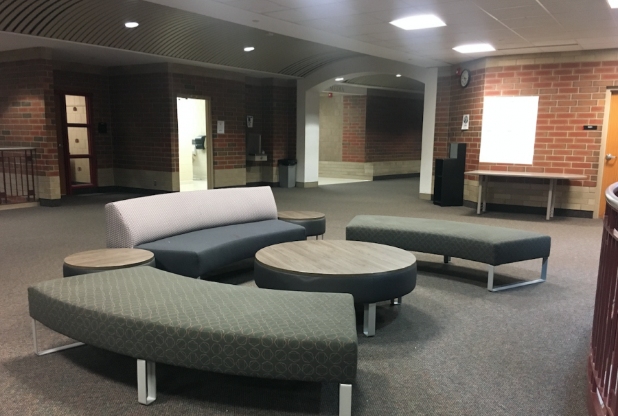 Soft seating furniture allows for easy collaboration
