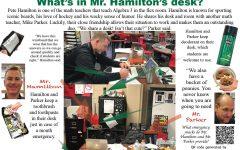 What's in Mr. Hamilton's desk?