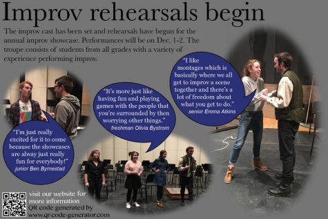Improv Troupe prepares for Winter Showcase