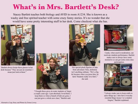 What's in Mrs. Bartlett's Desk?