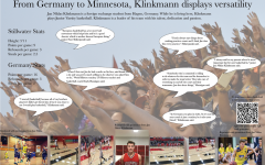 From Germany to Minnesota, Klinkmann displays versatility