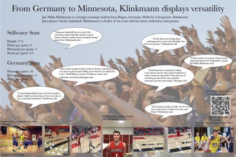 From Germany to Minnesota, Klinkmann displays versatility