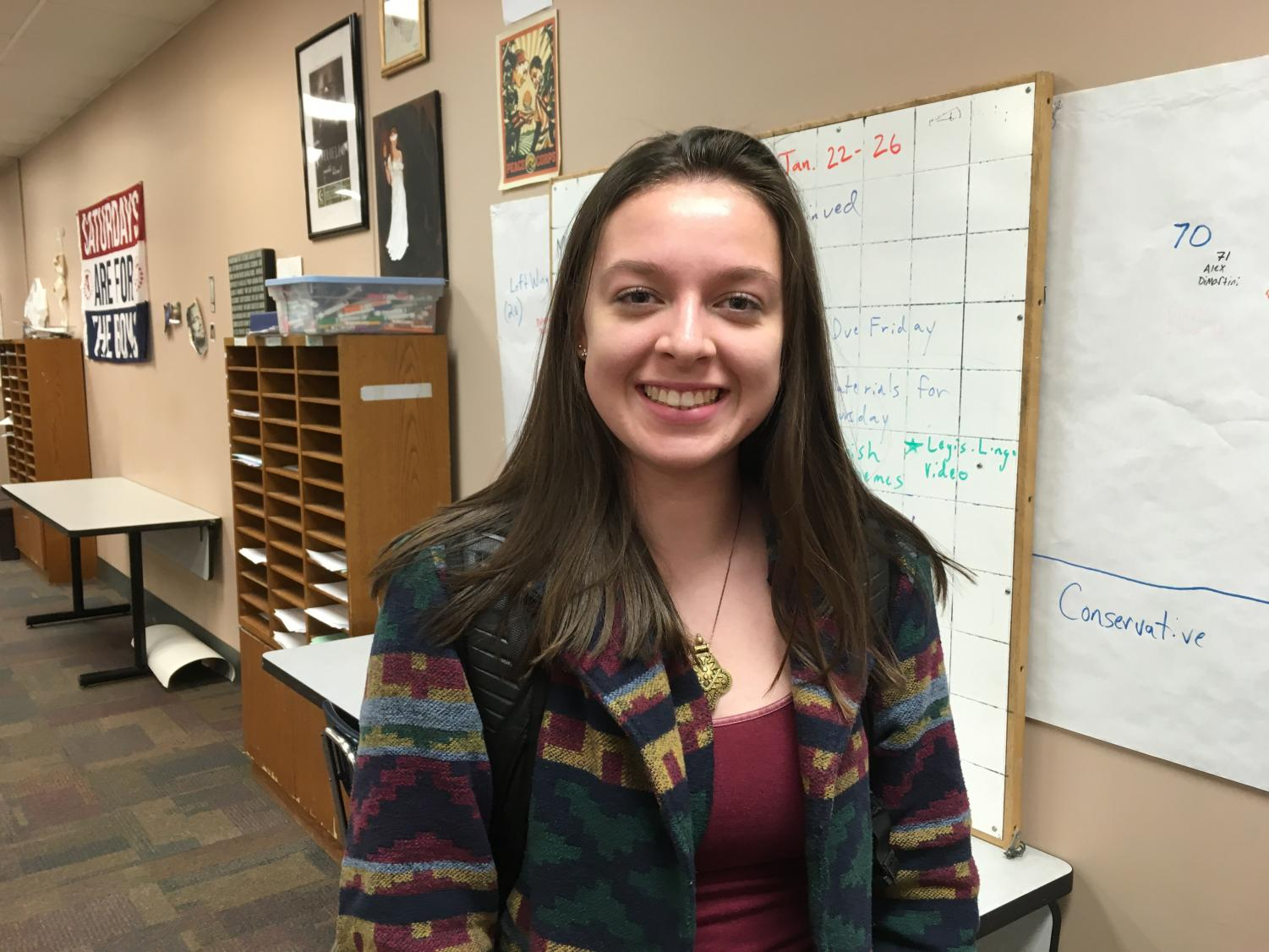 """Senior Sintra Nichols plans to take a gap year to travel to Brazil thanks to a scholarship program called Global Citizen. """"I want to like get out and I want to experience something new,"""" Sintra says. """"The comfortability thing that I feel here is something that I am not going to have there and it scares the crap out of me, but it's also super exciting."""""""