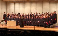 Choir shows dedication to singing